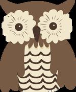 Owl #2 SVG Cut File
