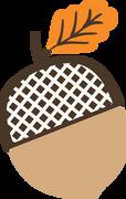 Acorn SVG Cut File