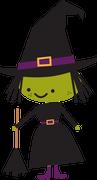Witch #2 SVG Cut File
