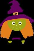 Witch #3 SVG Cut File
