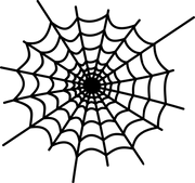 Spider Web #2 SVG Cut File