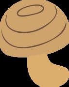 Mushroom #3 SVG Cut File