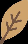 Fall Leaf #5 SVG Cut File