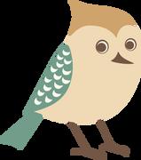Bird #4 SVG Cut File