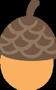 Acorn #2 SVG Cut File