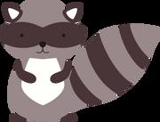 Racoon SVG Cut File