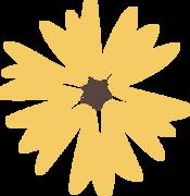 Autumn Flower SVG Cut File