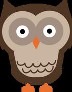 Owl #3 SVG Cut File