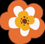 Autumn Flower #2 SVG Cut File