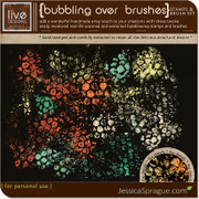 Bubbling Over Stamps & Brush Set