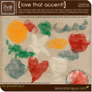 Love That Accent! Stamps & Brush Set