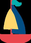 Sailboat #3 SVG Cut File
