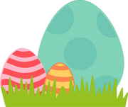 Easter Eggs SVG Cut File