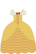 Ball Gown SVG Cut File