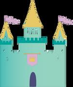 Castle #3 SVG Cut File