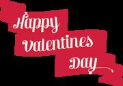Happy Valentine's Day Banner SVG Cut File