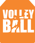 Volleyball Tag SVG Cut File