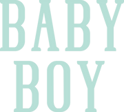 Baby Boy #3 SVG Cut File
