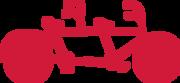Tandem Bike SVG Cut File