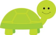 Happy Turtle SVG Cut File