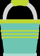 Bucket SVG Cut File