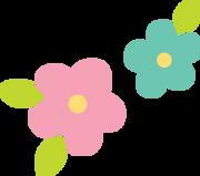 Easter Flowers SVG Cut File