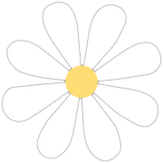 Easter Daisy SVG Cut File