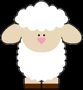 Easter Sheep SVG Cut File