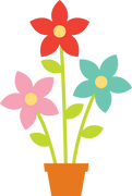 Flower Pot SVG Cut File