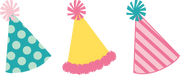 Party Hats SVG Cut File