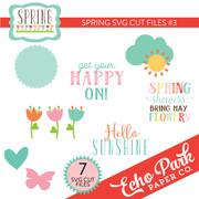 Spring SVG Cut Files #3