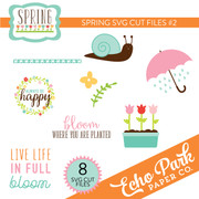 Spring SVG Cut Files #2