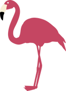 Flamingo #3 SVG Cut File
