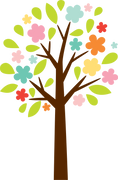 Spring Tree #3 SVG Cut File