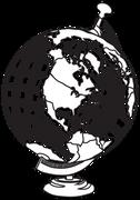Globe #7 SVG Cut File