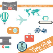 Travel Stories SVG Cut Files #1