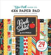 Back to School 6x6 Paper Pad
