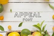 Appeal Font