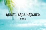 Aristo Sans Hatched Font