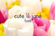 Cute Lil Jane Font