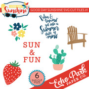 Good Day Sunshine SVG Cut Files #1