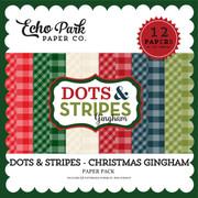 Dots & Stripes: Christmas Gingham