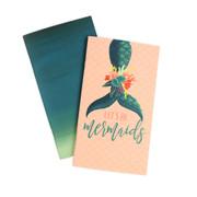 Mermaid Travelers Notebook Insert - Lined