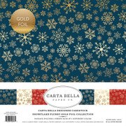 Snowflake Flurry Gold Foil Collection Kit