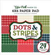Christmas Gingham 6x6 Paper Pad