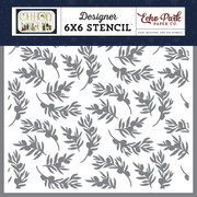 Olive Branch Stencil