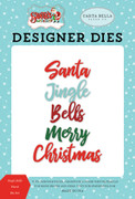 Jingle Bells Word Die Set