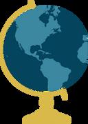 Globe #8 SVG Cut File