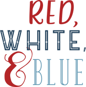Red, White, & Blue SVG Cut File