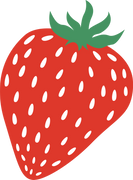 Strawberry #2 SVG Cut File